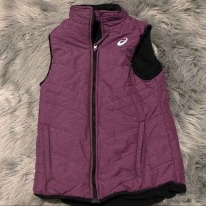 ASICS reversible vest purple